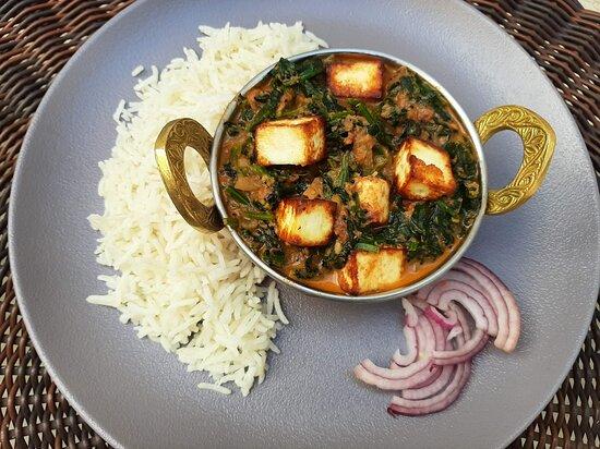 Curry Palak Panir