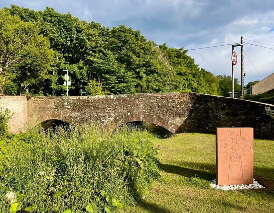 The pretty little village of St. Vigeans is on the outskirts of Arbroath, but has to all purposes   has really been absorbed into it. However, it has a charm of it's own, and there are various forest walks from here into the green Angus countryside to enjoy and explore.
