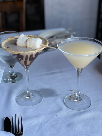 smores and pear martini