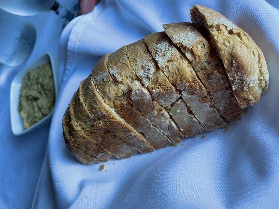 bread was delicious too!