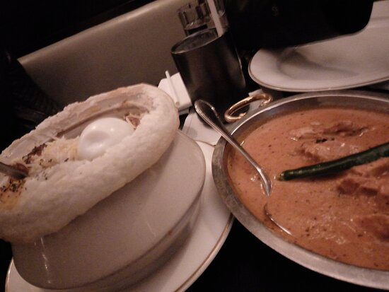 Gorgeous Butter Chicken meal.