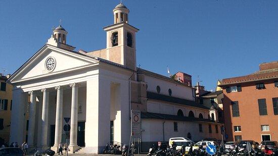 Sestri Levante.Basilica Santa Maria di Nazareth.