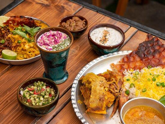Lunch at Boghcheh Restaurant