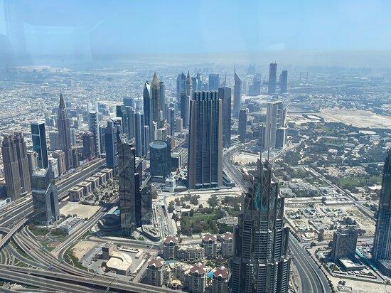 Entrada general para la planta alta del Burj Khalifa, pisos 125 y 124: At the Top, Burj Khalifa