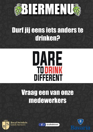 Dare to Drink Different
