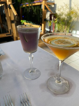 Two good cocktails