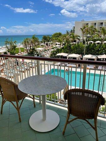 Balcony of Ocean View King Room