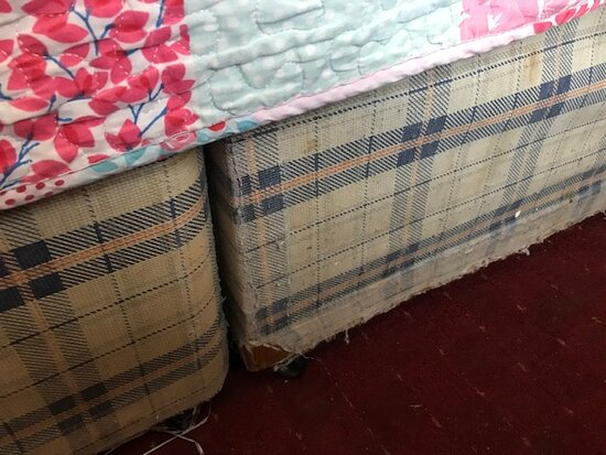 Divan Bed Ripped and Torn
