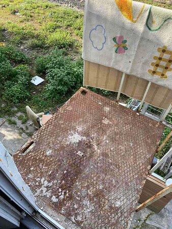 Балкон в рЭсторане