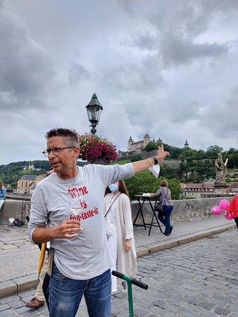 Würzburg, Alemania: Regenführung