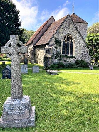 6.  St Simon & St Jude Church, East Dean, East Sussex