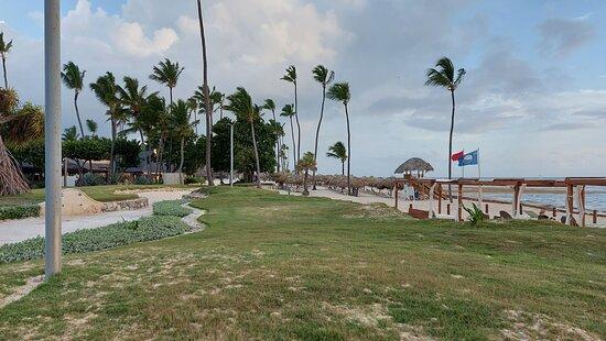 Poranne zdjęcie z plaży