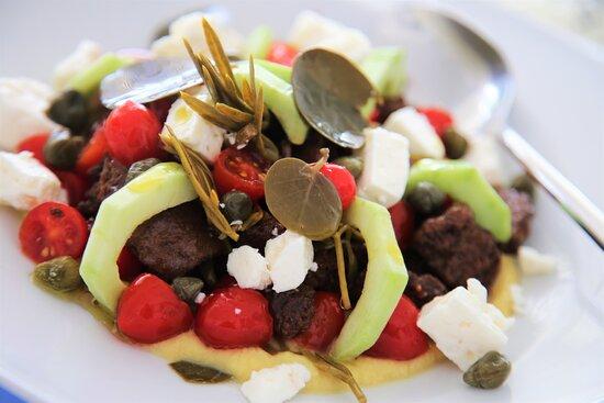 Modern Santorini Salad