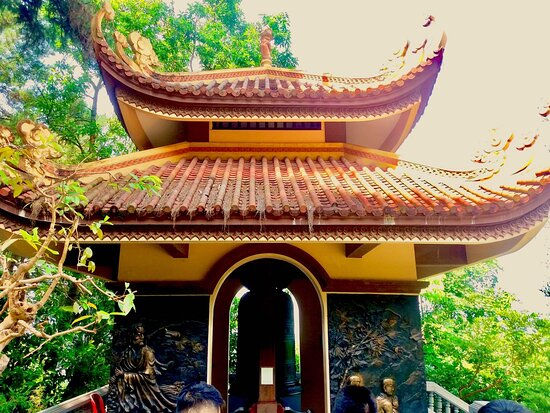 Bell house at Tay Thien zen monsastery