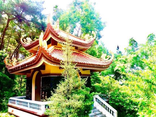 Tay Thien zen monsastery's bell house