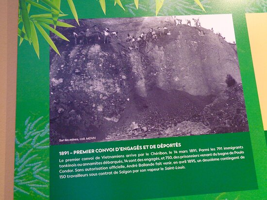 Noumea, Ny Kaledonien: 🔶     Vietnamese Historical  Workers  🔶◻▥▪ ▫  Maison Higginson   ◽ ▪ ▫ NEW CALEDONIAN Cultural Heritage  ◽ ▪ ▫