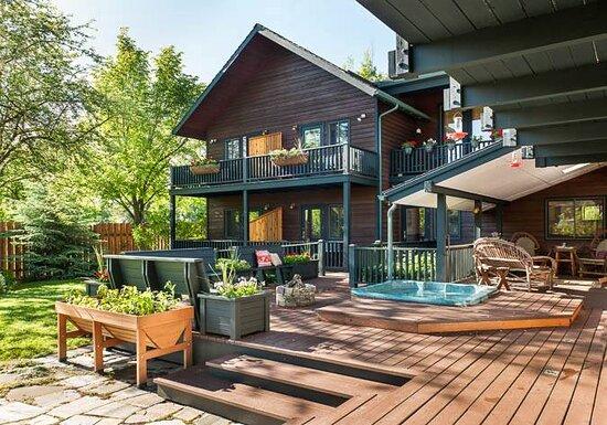 Summer Exterior Backyard
