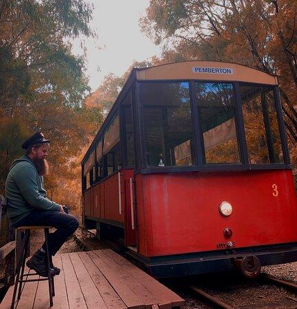 All aboard.. ..Tram Ride