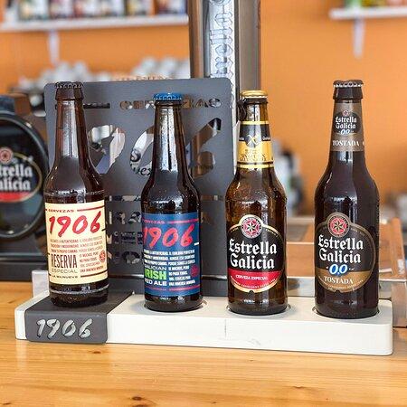 Gran selección de cervezas