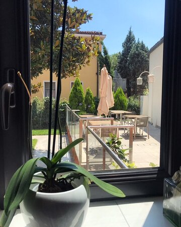Vista sul giardino interno