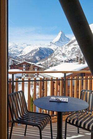 Penthouse Matterhorn Deluxe view