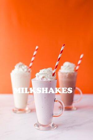 We now do real ice cream milkshakes