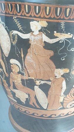 vaso con mito