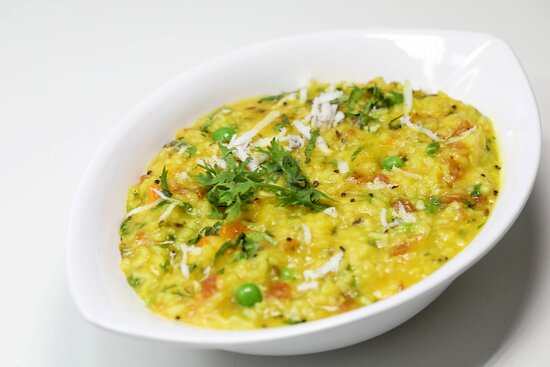 Moong Daal Mantra, Traditional Moong Daal Khichadi, assorted nutritious veggies and Gheeee!