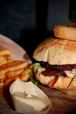 Hamburger Americain style