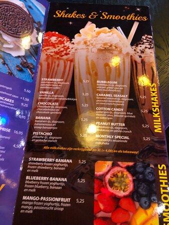 Lekkere Philly Cheesesteak en milkshakes