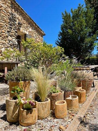 Les pots en vieilles tuiles Provençales