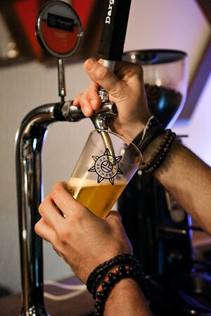 The best beer is a draft beer! Every beer lover's choice.