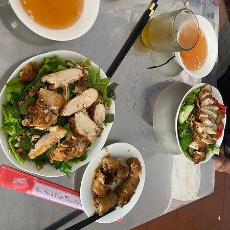 Very delicious bun cha dish