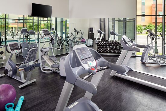 A great fitness room to get your work out in.