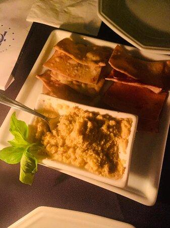 Entrada Hommus Thai