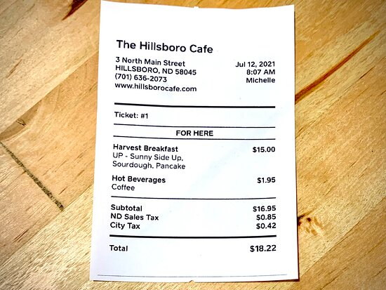 So glad that I finally made it to the Hillsboro Cafe! I needed this. Thank you!