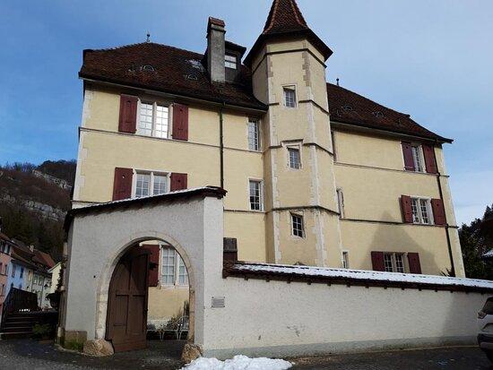 Maison Béchaux à St-Ursanne (JU)