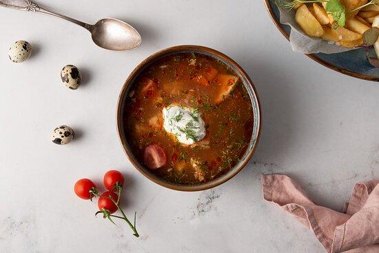 Zupa rybna/ Fish soup
