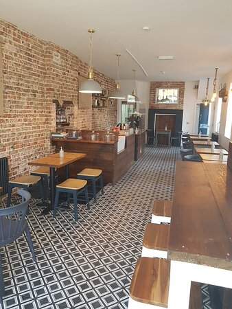 Inside Malt Cafe!