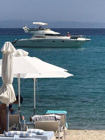 Beach bars Kassandra  cruise