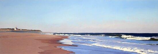Nauset Beach, Oil on Linen.