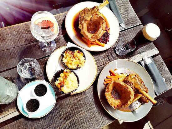 Sundays in the sun Roast dinners served 12-8pm