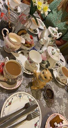 Brilliant tea room