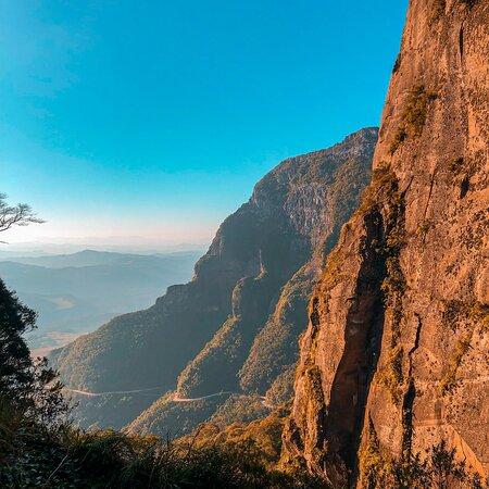 Vista do topo da Serra.