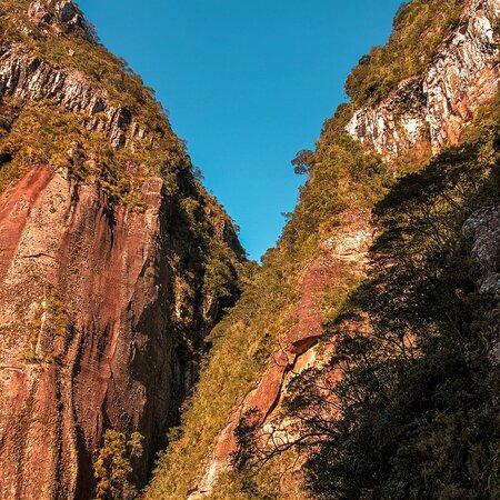 Rochas no topo da Serra.