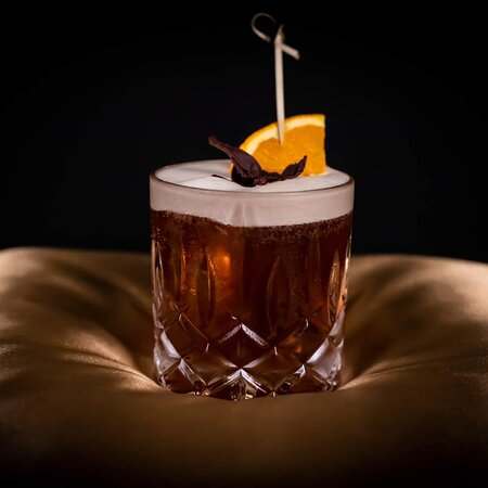 Vodka-Coffee Cocktail