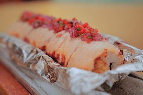 Kaji Roll creado por @juandalle receta exclusiva de @arigatosushicolombia