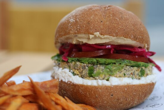 Hamburguesa Vegetariana de Garbanzo