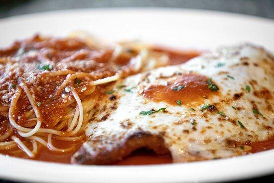 Choose a dish add a pasta of your choosing & enjoy! Photo: Justin Huard