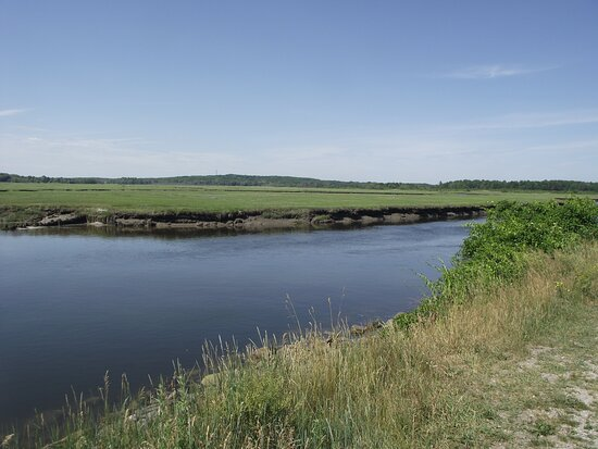 ME - SCARBOROUGH – EASTERN TRAIL – VIEW OF MARSH & RIVER #2
